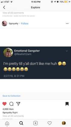 That shii be funny ash to me 😂 Snap Quotes, Funny True Quotes, Truth Quotes, Fact Quotes, Mood Quotes, Talking Quotes, Real Talk Quotes, Baddie Quotes, Relatable Tweets