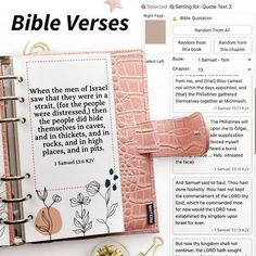 """Update! We received requests for Bible Verses a few days ago and added the King James version 💫 You can choose verses from any book and chapter. To apply a verse, select the """"Quote Text 2"""". In the settings you can further adjust the font and size. We most likely will make a few more changes to this widget and connect it to the text editor for easier use 😊 . . We also received a request for the Quran (english version), Astrology, and a few others which will be up soon as well :sparkli"""