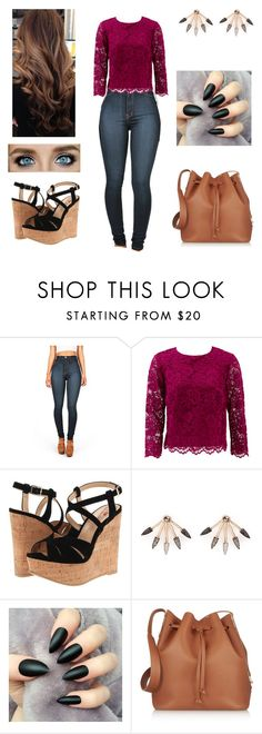 """Untitled #537"" by ashleyclairec ❤ liked on Polyvore featuring Nicole Miller, Luichiny, Pamela Love, Sophie Hulme, women's clothing, women's fashion, women, female, woman and misses"