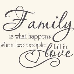 Amazon.com: Family Love Quote Vinyl Wall Decal Sticker Art-Words/Lettering Home Décor: Home & Kitchen