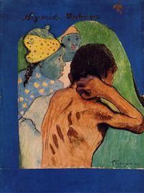 Negreries Martinique - Paul Gauguin