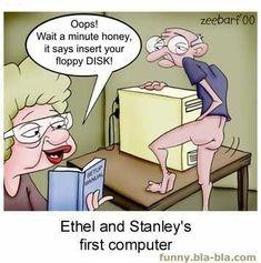 Ethel and Stanley's First Computer... We zullen mediawijsheid ook naar de bejaardenhuizen moeten brengen!