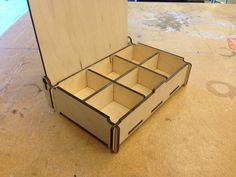 Make a Simple Wood Box at Techshop #laser_cutting #storage #organization #woodworking