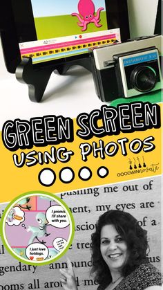Green Screen is more than just video. Read this post to find out more about making photos with Green Screen. Green Screen App, Green Screen Photo, Morning Announcements, Just Video, Educational Technology, Teaching Technology, Technology Tools, Digital Technology, Ipad Art