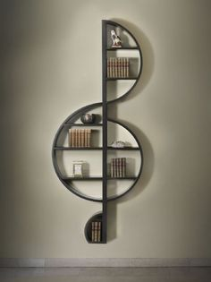bookshelf! how cool would this be for Gordons music books! More