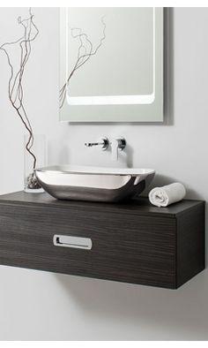 Bathroom Vanity Units, Bathroom Furniture, Bauhaus, Floating Nightstand, Double Vanity, Drawers, The Unit, Home Decor, Floating Headboard