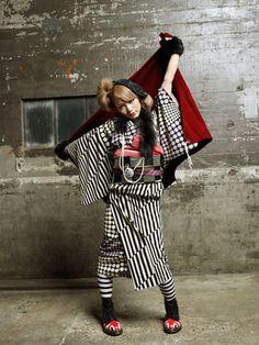 Mod Pop Punk: Contemporary Kimono by Modern Antenna 4