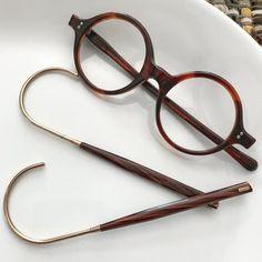 Shuron/Imperial Acetate NOS Round Eyewear Prescription Tortoise GF Coil Temple Gl Mens Glasses Frames, Glasses Style, Optical Shop, Barrel Hinges, Round Eyeglasses, Eyewear Online, Optical Frames, Optician, Tortoise