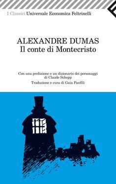 """Alexandre Dumas, """"Il conte di Montecristo"""". """"Soltanto colui che provò le più grandi sventure è atto a godere le più grandi felicità"""". Un romanzo travolgente e popolare nel senso migliore. Una grande, immortale storia di vendetta e misericordia."""