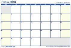 10 Ideas De Cal2018 Calendario 2018 Para Imprimir Calendario 2018 Imprimir Sobres
