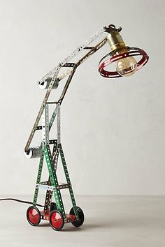 Large Mechanical Crane Lamp #anthropologie  only $1200