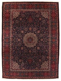 VAN-HAM Kunstauktionen Mashad, signed Saber.  2nd quarter of 20th C. 411 x 297cm.