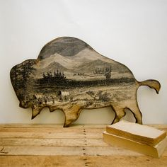 Where The Buffalo Roam by Tamara Dalrymple on Etsy