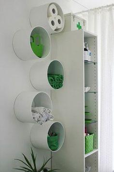 建築資材の「塩ビパイプ」で作るインテリアが実用性もあってカッコいい! - NAVER まとめ