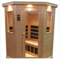 Hanko™ Elite 3 Person Infrared Sauna Room Kit - Nordic Spruce