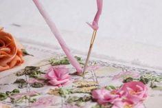 Twirled Ribbon Rose tutorial