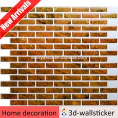 Tile Decoration Stickers New Waterproof Self Adhesive Wall Tiles  Waterproof Selfadhesive Decorating Design