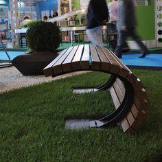 Malik Gallery Collection   Tsunami Outdoor Bench