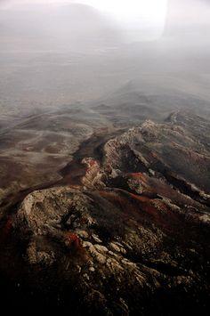 hell is near. vulcanic landscape. mývatn. iceland.