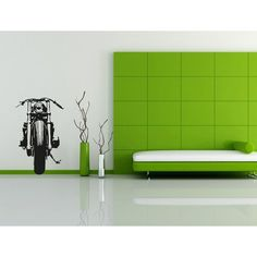 Visual Think Cafe Racer Motorcycle Mc02 Wall Stickers, available on Ferro29 Online Store.