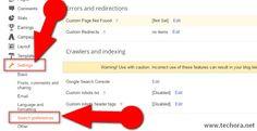Adding seo friendly custom robots.txt file in blogger blogs
