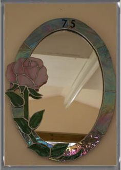 Decorated Mirrors Wendy Dolny Stained Gl Frames