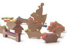 【送料無料!】 エドトイ ファーム アドベンチャーシリーズ 【積み木 つみき 農場 木製玩具 知育玩具 ベビートイ エドインター】