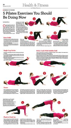5 Pilates Exercises You Should Be Doing Now|Epoch Times| #newspaper #editorialdesign