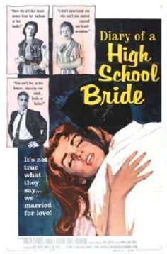 Diary Of A High School Bride Movie Poster Standup 4inx6in