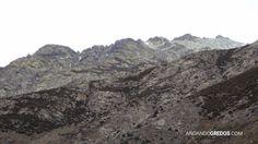 Cresta del Sillao hacia el Almanzor por donde transcurre el Camino del Tío Domingo