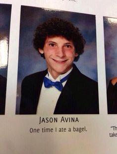 Best Senior quote ever!