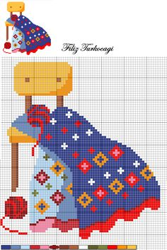 Sarı şablon ise burada...İsterseniz örün, isterseniz kanaviçe olarak işleyin...Hangisini isterseniz... Cross Stitch House, Mini Cross Stitch, Cross Stitch Charts, Cross Stitch Patterns, Cross Stitching, Cross Stitch Embroidery, Hand Embroidery, Alpha Patterns, Loom Patterns