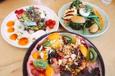 Hello friends and allies a quirky cafe located in Auckland serving up some delicious healthy Comfort food ! The coconut mermaid yoghurt bowl is a MUST! Healthy Cafe, Healthy Comfort Food, Healthy Foods To Eat, Healthy Eating, Healthy Recipes, Love Eat, Cobb Salad, Healthy Lifestyle, Brunch