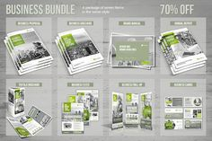 Ad: Business Bundle by MrTemplater on Bundle Elements - Business Brochure - - Proposal - - Annual Report - - Brand Manual - - Tri-fold Brochure - - Flyer - - Roll-up - - Business Examples Of Business Cards, Business Card Mock Up, Business Brochure, Business Flyer, Business Proposal, Design Brochure, Creative Brochure, Brochure Template, Brochure Ideas