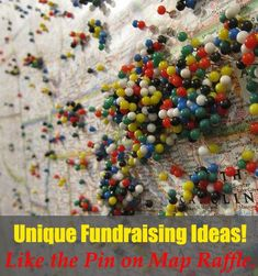 """The coolest and most Unique Fundraising Ideas, like the """"Pin on map fundraising raffle"""" and others! Take a look... www.rewarding-fundraising-ideas.com/unique-fundraising-ideas.html (Photo by Selena N. B. H. / Flickr) #Fundraising"""