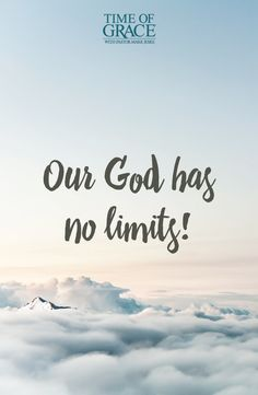 God has power over everything. #Limitless #Christian #Bible