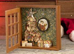 Christmas Tree Shadow Box