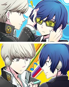 There needs to be more Persona Q fanarts like this these are so adorable aaaaa