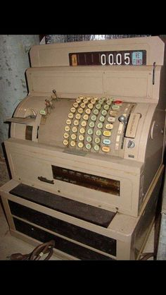 In my first job I used tills like this