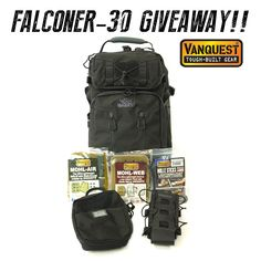The Vanquest Team kicks off our launch of the new FALCONER-30 backpack with a gear giveaway! LIKE & SHARE to earn 3x BONUS ENTRIES! Open to EVERYONE 18yo & over. Entry ends April 27 @ 12:01AM (PST)
