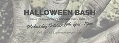 Spookiness is around the corner and we invite you to our #Halloween Bash Oct 29th!