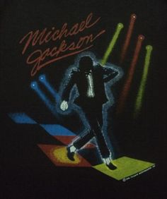 Victory Tour, MJ T-Shirt from 1984