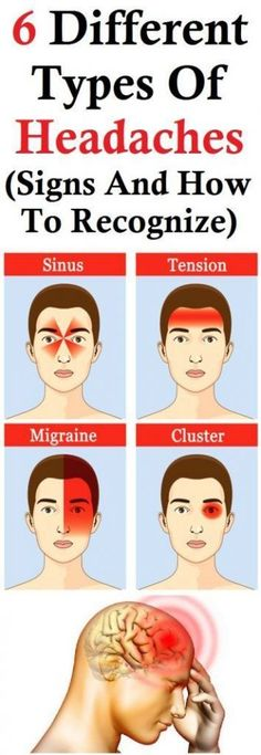 6 Different Types Of Headaches (Signs And How To Recognize) – Gonnee Lifestyle Everyone deals with headaches ones in a while. People usually use medications to treat the headaches, however, you should know that not all headaches are the same. Home Beauty Tips, Beauty Tips For Skin, Skin Care Tips, Health And Beauty, Beauty Hacks, Beauty Secrets, Reasons For Migraines, Tmj Headache, Headache Remedies