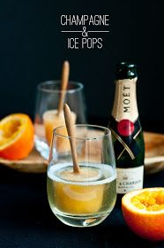 andy & belle: Champagne & Ice Pops