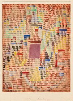 Paul Klee Mit dem Eingang 1931