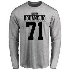 Cyrus Kouandjio Player Issued Long Sleeve T-Shirt - Ash - $25.95