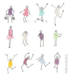 little males - watercolor pen Extra illustration obtain Fingerprint Crafts, Stick Figure Drawing, Doodle Inspiration, Doodles, Handprint Art, Sketch Notes, Pen And Watercolor, Finger Painting, Stick Figures