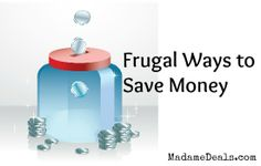 #Frugal Ways to save money! Great tips anyone can use! #InspireOthers