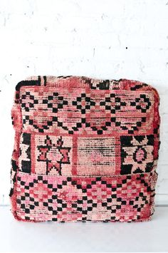Moroccan floor pillows are a forever cozy and are great to have at events for mingling circles | Patina