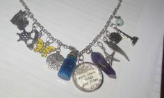 my charm necklace...each charm has a story